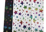 Colourful Foil Rainbow Stars Color