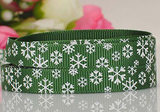 Puff Printing Grosgrain Ribbon