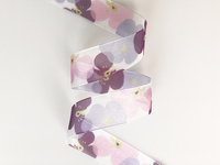 Heat - transfer Printed Organza Ribbon